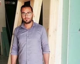 המאם דסה מספק הצצה לעולמו כמהנדס אזרחי ברשות הפלסטינית