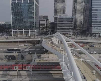 הסתיימה הקמת גשר יהודית, ייפתח בקרוב לתנועה