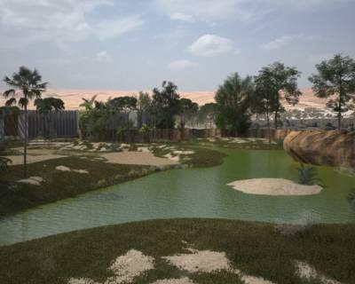 מקום לשאגה: סקירת הקמת גן החיות האינטראקטיבי בבאר שבע